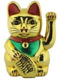 幸运猫的形象 免版税库存照片