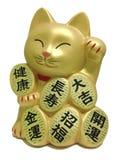 幸运的猫玩偶 免版税库存照片