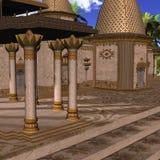 幻想印地安人寺庙
