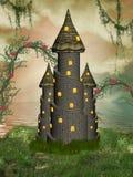 幻想城堡 免版税库存照片