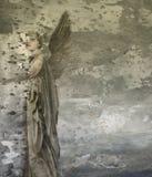 幻想妇女天使 免版税库存照片