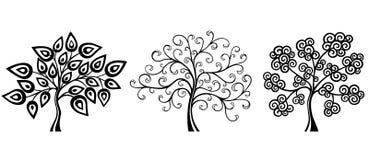 幻想结构树 向量例证