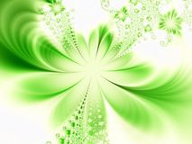 幻想绿色 向量例证