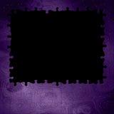 幻想背景紫色缩放比例/难题 免版税库存照片