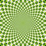 幻觉光学向量 库存例证