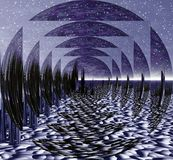 幻觉空间 库存照片