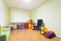 幼儿园游戏室 免版税库存图片