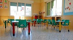 幼儿园类的内部 免版税库存图片