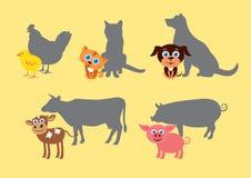 幼小动物传染媒介象  免版税图库摄影