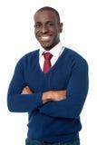 幼小非洲商业主管 免版税库存图片