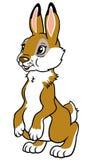 幼稚兔子 免版税库存照片