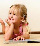 幼稚园读取 库存图片