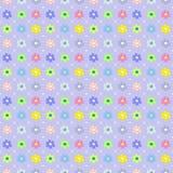 幼稚花卉无缝的样式 库存图片
