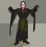幽灵黑色 免版税库存图片