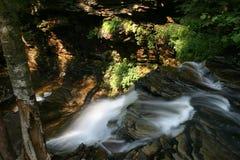 幽谷公园ricketts指明瀑布 库存图片