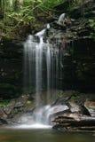 幽谷公园ricketts指明瀑布 免版税图库摄影