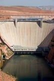 幽谷峡谷水坝,在页附近,亚利桑那 免版税库存图片