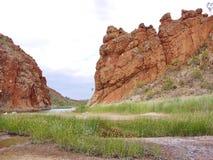幽谷海伦,峡谷在麦道中排列 免版税图库摄影