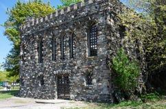 幽谷海岛城堡 免版税库存图片