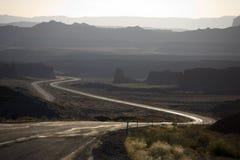 幽静的高速公路 库存照片