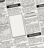 广告事业 免版税库存照片