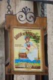 广告广告肥皂在古巴 库存照片