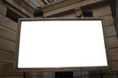广告时间 免版税库存照片