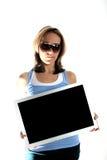 广告时间 免版税库存图片