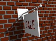 广告牌企业例证 免版税库存照片