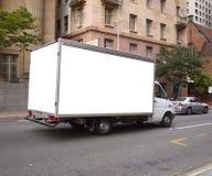 广告牌卡车 免版税库存图片