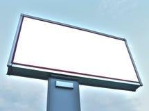 广告牌复制空间 免版税库存图片