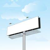 广告牌巨大的空间 免版税库存图片