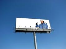 广告牌 免版税图库摄影
