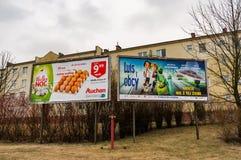 广告 免版税库存图片