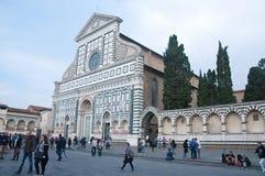 广场二圣玛丽亚中篇小说在佛罗伦萨 免版税库存图片