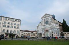 广场二圣玛丽亚中篇小说在佛罗伦萨 免版税库存照片