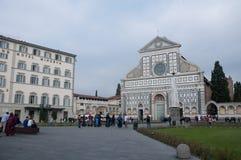 广场二圣玛丽亚中篇小说在佛罗伦萨 图库摄影