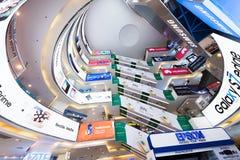 广场低亚特内部,吉隆坡 免版税库存图片