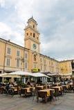 广场加里波第 从183 BC帕尔马是罗马殖民地和广场 库存图片