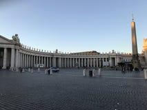 广场圣彼得罗-罗马 库存照片