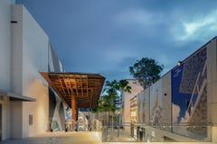 广场在中间地区迈阿密 库存照片