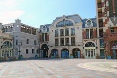广场塔在巴统 免版税库存照片