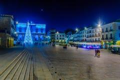 广场市长在卡塞里斯 免版税图库摄影