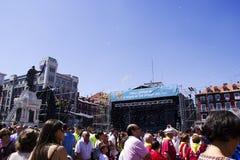 广场市长在巴里阿多里德 免版税库存图片