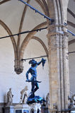 广场德拉Signoria佛罗伦萨,意大利 免版税库存照片