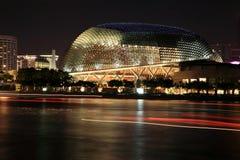 广场新加坡剧院 库存照片