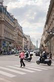 巴黎 广场歌剧 免版税图库摄影