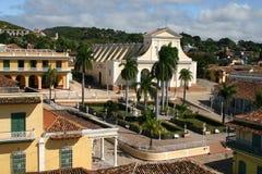 广场特立尼达,古巴市长, 库存照片