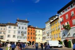 广场中央寺院, Trento 免版税库存图片