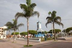 广场de armas在塞罗Azul,加州ete,利马 免版税库存图片